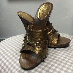 Gucci Stilettos horsebit mules
